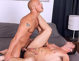 cocksuremen john magnum gay porn featuring raw bareback